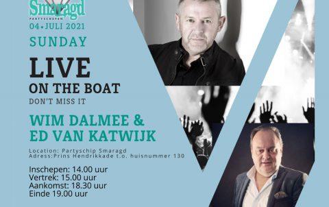 4 juli: Wim Dalmee & Ed van Katwijk