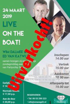 Uitverkocht: 24 maart: Wim Dalmee & Ed van Katwijk